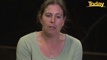 Jess Blackwell said she is still in shock after losing her home in the fast-moving bushfire.