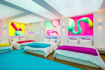 The Love Island bedroom…