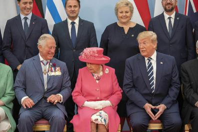 Trump has spoken of the British royals during a radio interview.