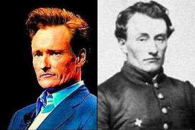 Conan used to be much more serious back when he was Marshall Harvey Twitchell, a Union Army soldier born in 1840 in Louisiana.