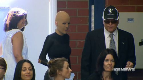 Burns victims were donated money from children, pensioners and business to help with their recovery - and it was stolen by Ms McClymans. Picture: 9NEWS