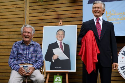 Mr Hawke celebrated his birthday at the Clovelly Hotel. (AAP)