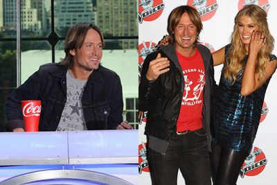 Keith won over Australia's hearts with his easy charm on <i>The Voice</i> 2012. Too bad <i>American Idol</i> had more money to offer, so he went there for 2013, filling the empty seat left by Aerosmith's Steven Tyler. Keith returned to <i>Idol</i> in 2014.