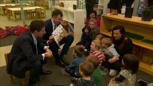 Some parents are facing a childcare price hike, despite new government rebates. Picture: 9NEWS