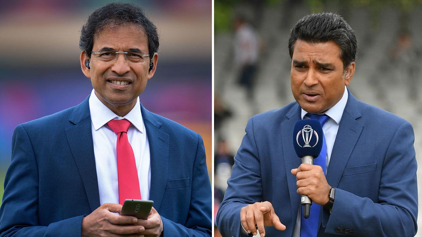 Sanjay Manjrekar & Harsha Bhogle