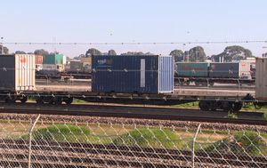 Stowaways charged for allegedly trying to cross Victoria border on freight train