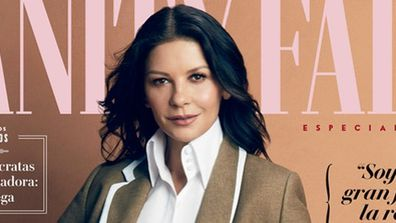 Catherine Zeta-Jones, daughter Carys Zeta Douglas, cover, Vanity Fair, magazine