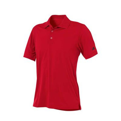 <strong>adidas Men's Solid Jersey Polo</strong>