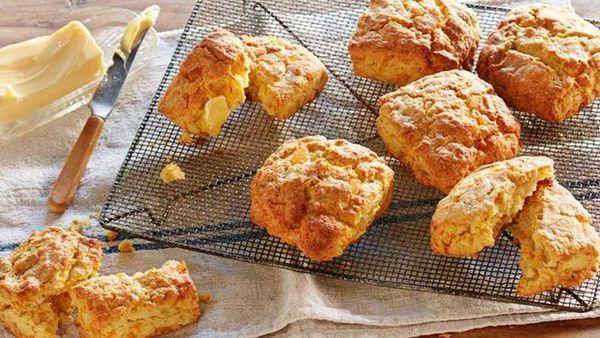 Curtis Stone's kabocha pumpkin scones recipe