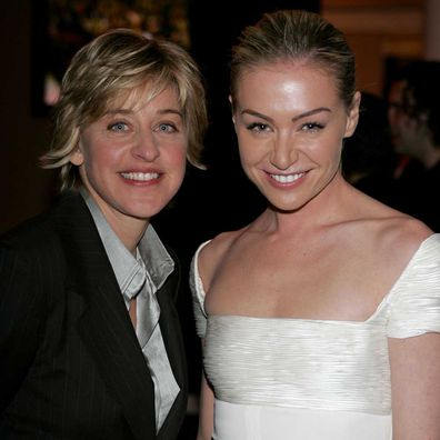Ellen DeGeneres and Portia De Rossi in 2005.