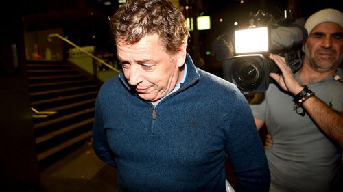 Former Essendon coach Mark 'Bomber' Thompson was granted bail under strict conditions today over a series of drugs charges. (AAP).