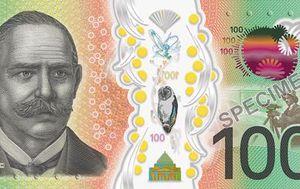 Australia's brand new $100 banknote enters circulation