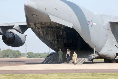 Kate Middleton RAF