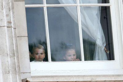 Prince Louis and Princess Charlotte