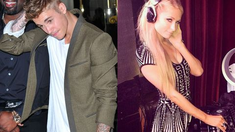 Justin Bieber, Paris Hilton