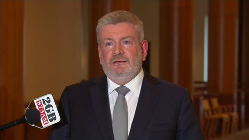 Minister for Communications Senator Mitch Fifield said Mr Shorten needs to 'front up' in light of this announcement and 'tell the truth about what he knew.' Picture: 9NEWS