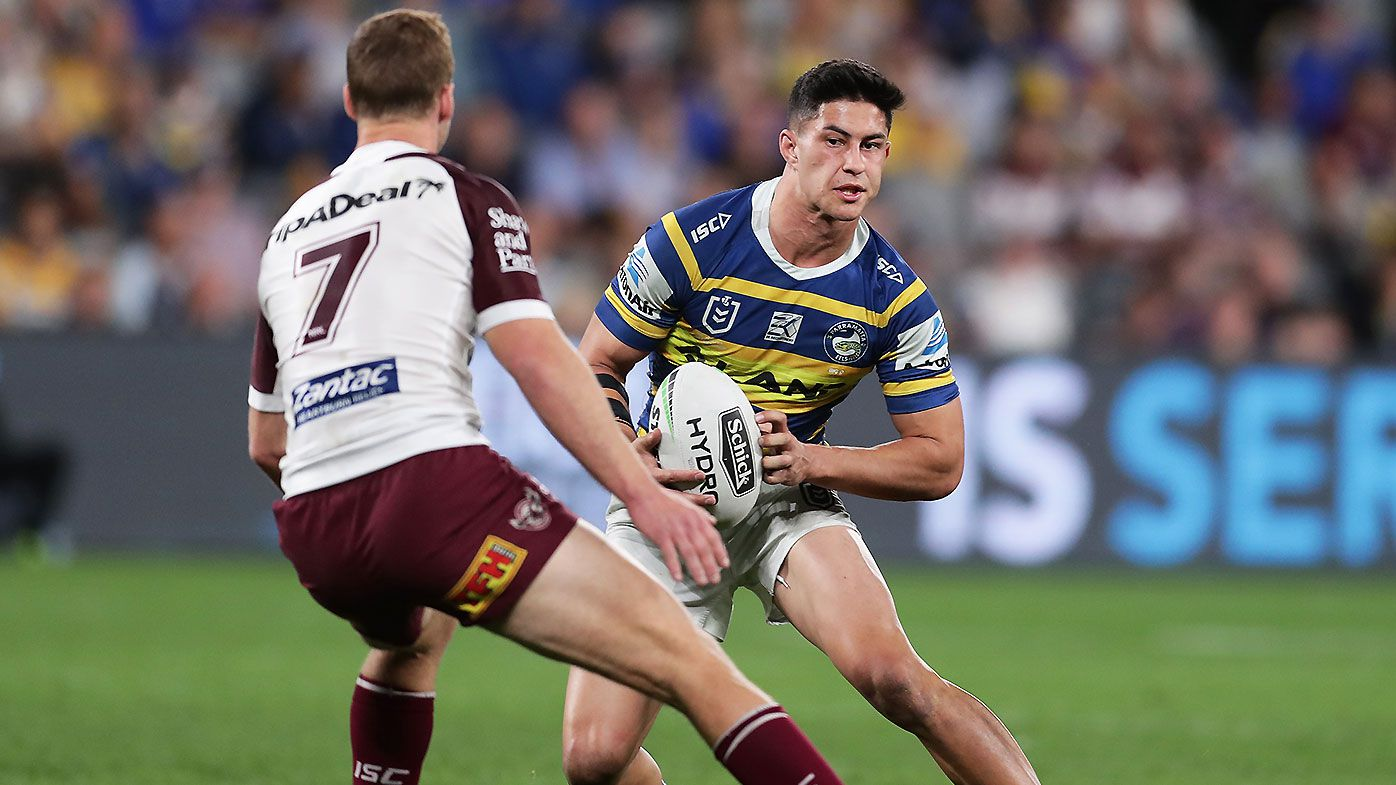 Parramatta Eels lock in young gun half Dylan Brown for three years
