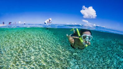 Okinawa snorkelling