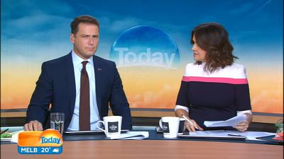 Lisa Wilkinson reacts to news of Karl Stefanovic leaving 'TODAY'