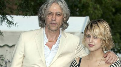 Peaches and her rockstar father, Bob Geldof, in 2009.
