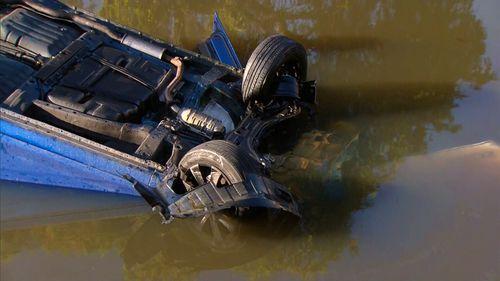 Campsie Cooks River crash