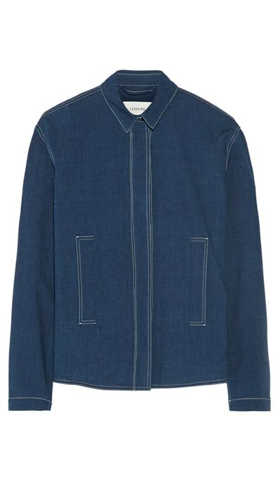 "<a  href="" http:="" ""="""" www.net-a-porter.com="""" au="""" en="""" product="""" 547312="""" lemaire="""" chambray-shirt="""">Chambray Shirt, $717.20, Le Maire </a>"