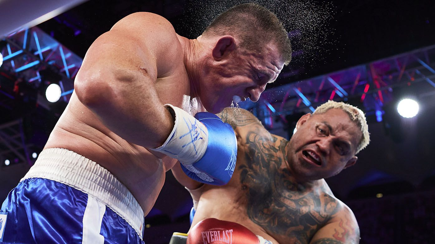 EXCLUSIVE: How Paul Gallen answered boxing's most merciless question in the ring