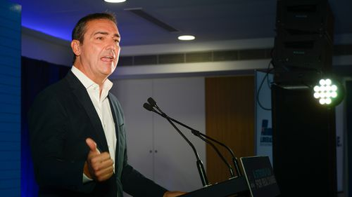 After falling short in 2014, Steven Marshall is trying to end the Liberals' 16 years in opposition. (AAP)