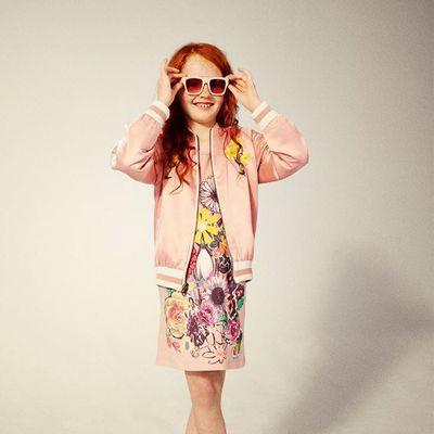 "<p><a href=""https://lmbambini.com.au/collections/girl/products/stella-mccartney-mia-dress-w-floral-collage-pr"" target=""_blank"">Stella McCartney Kids Mia Dress, $80.</a></p> <p></p>"