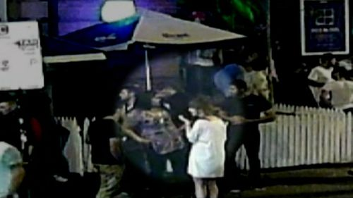 The offenders and victims first clashed at the Penny Black in Brunswick. (Supplied)