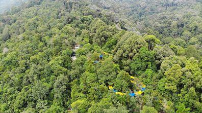Malaysia's ESCAPE park building the world's longest waterslide