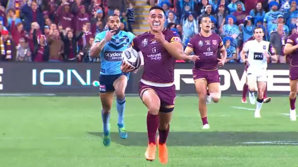 EXCLUSIVE: Valentine Holmes in 'massive doubt' for Origin after ankle surgery