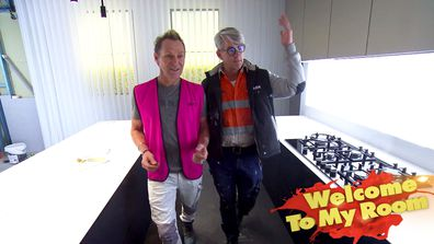 Mitch and Mark show off their kitchen