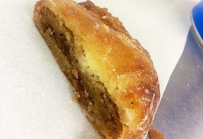 Cookie inside a doughnut