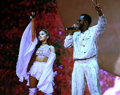 Ariana Grande and Diddy perform at Coachella