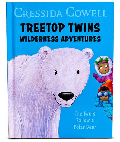 McDonald's Happy Meal book Treetop Twins Wilderness Adventures