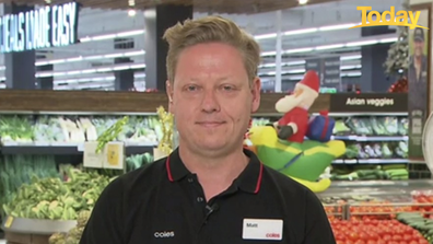 Chief Operations Officer at Coles Matt Swindells has assured customers there will be enough stock for Christmas.