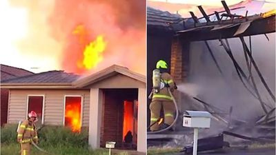 Mum saves children from ferocious house fire