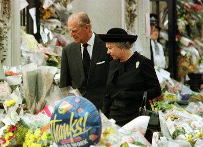 Princess Diana's funeral, September 1997