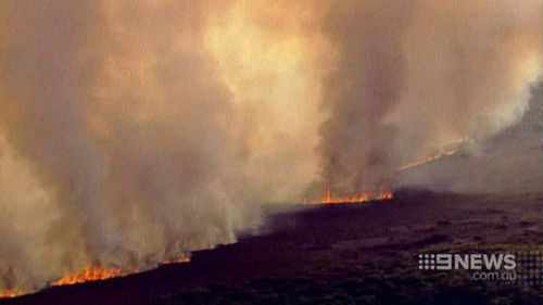 The fires destroyed more than 1700 homes. (9NEWS)