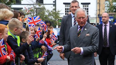 Prince Charles visits Farmers' Markets