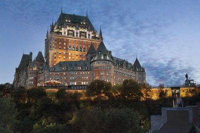 <strong>Fairmont Le Chateau Frontenac, Quebec City, Canada</strong>