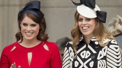 Princess Eugenie and Princess Beatrice, 2018