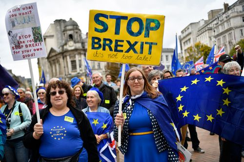 The Centre for European Reform, a research group that focuses on the European Union, said the British economy is about 2.5 percent smaller than it would have been if the public have voted to remain in the bloc in June 2016.