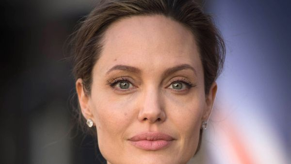 Angelina Jolie is famed for her almond eyes. Image: Getty.