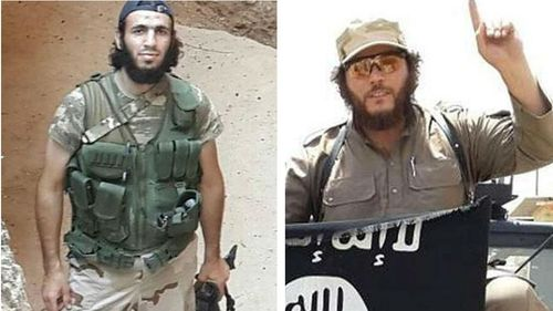 Australians Mohammed Elomar and Khaled Sharrouf are believed to be fighting with ISIL in Syria. (Supplied)