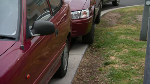 Residents are being penalised for parking on the nature strip.