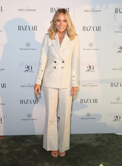 Fashion designer Rebecca Vallance at the Harper's Bazaar 20th anniversary party
