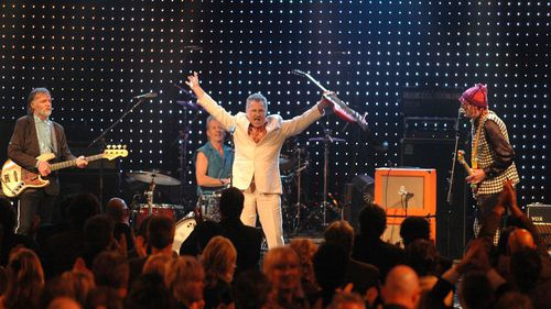 Daddy Cool rocket out at the 2006 Aria Awards Hall of Fame induction. (AAP)
