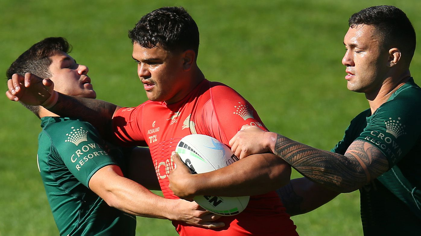South Sydney 'body double' Latrell Mitchell a key for Rabbitohs as Sea Eagles gun Tom Trbojevic looms